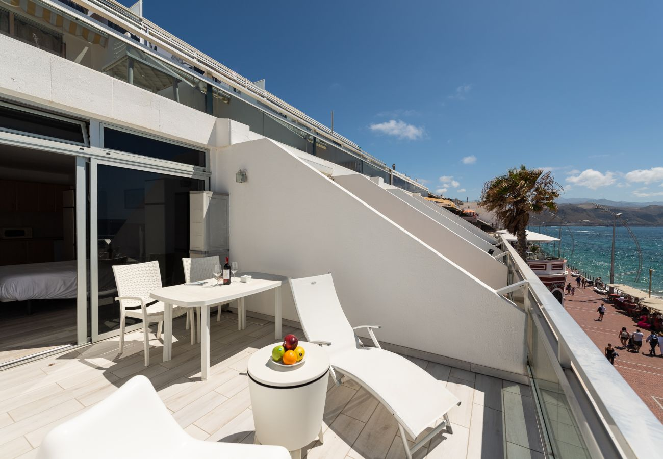 Apartamento en Las Palmas de Gran Canaria - Great terrace sea views+Wifi By Canariasgetaway