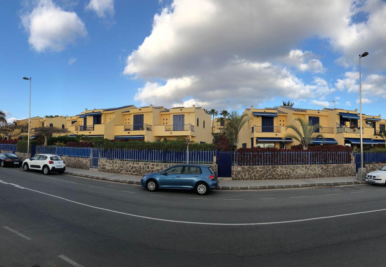 Bungalow en Maspalomas - Duplex great garden Meloneras By CanariasGetaway