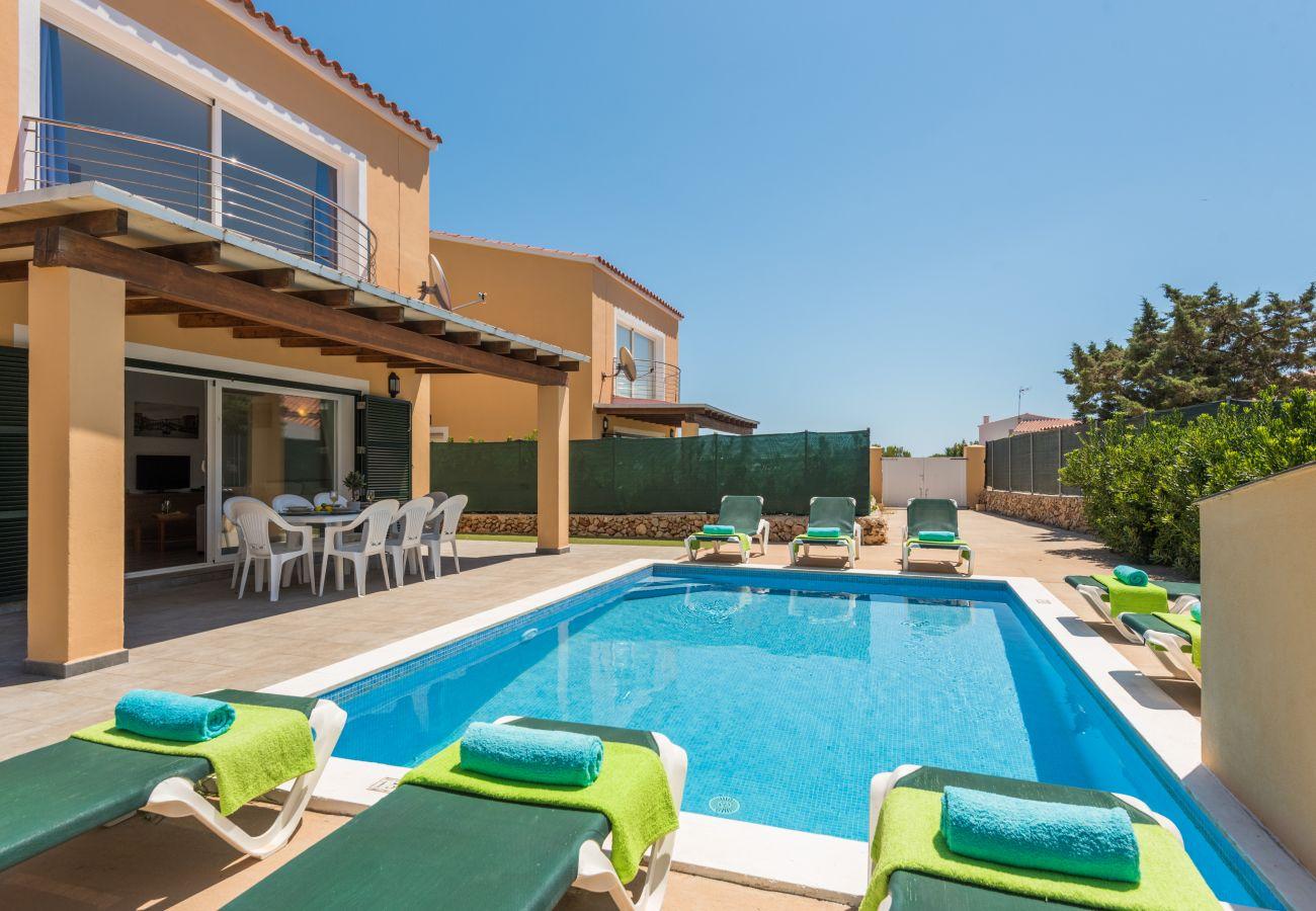 Villa en Arenal d´en Castell - Menorca Garbo