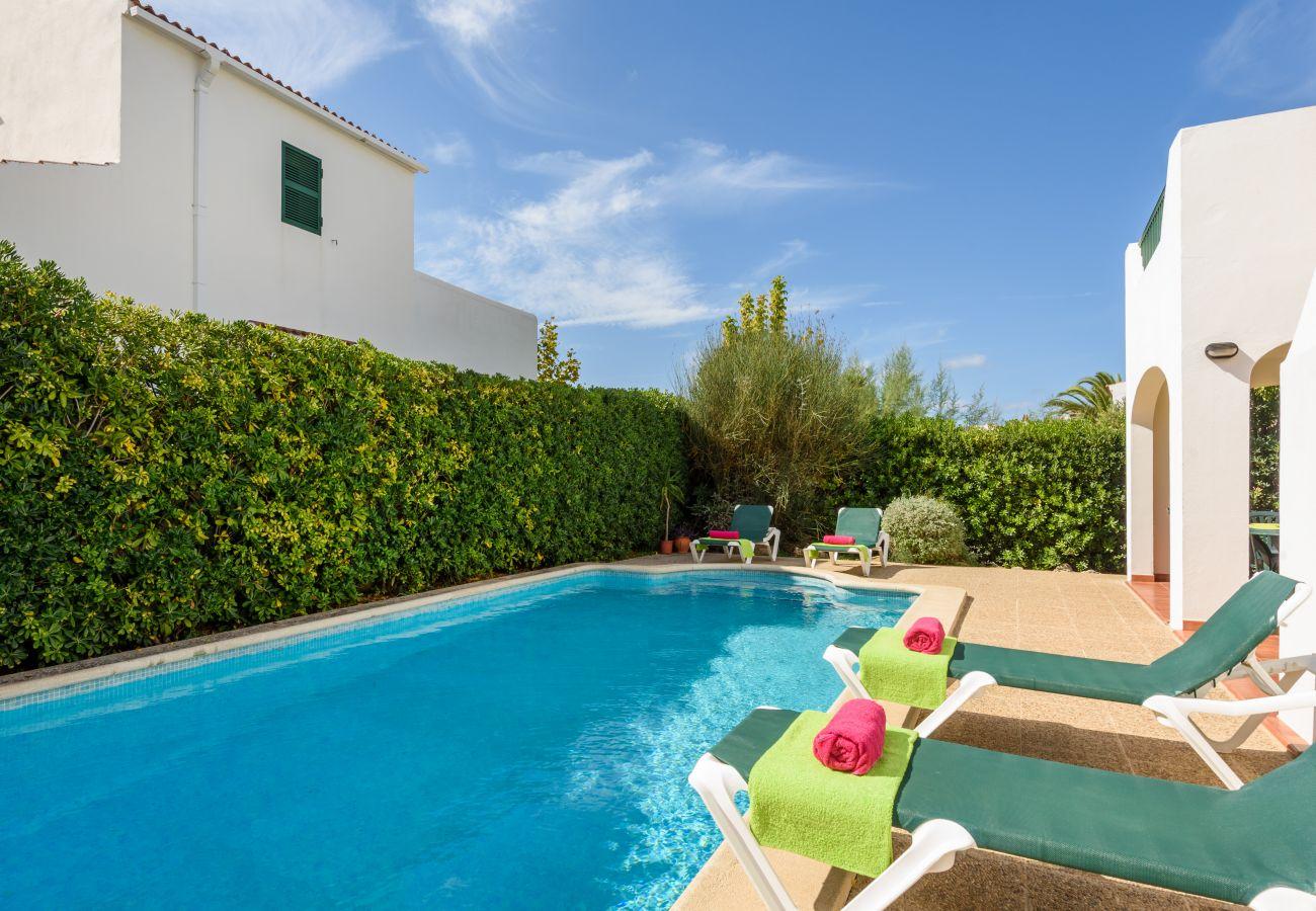 Villa en Cala´n Blanes - Menorca Juanita