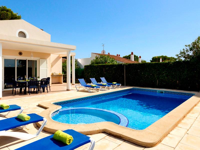 Villa Roser en Cala Blanca Menorca