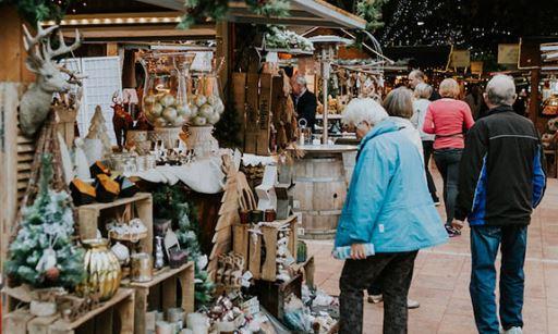 Mercado tradicional en Ciutadella