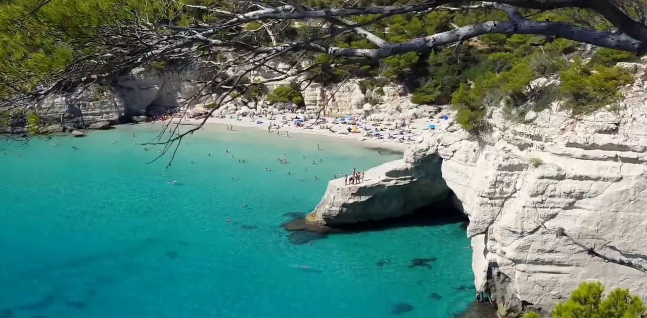 Cala Mitjana Menorca