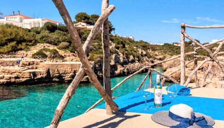 Cala En Blanes de Menorca